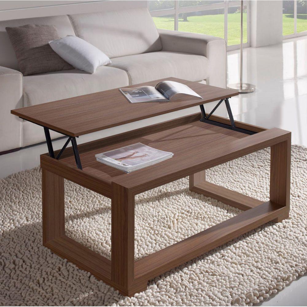 d69f4d17a74e2f Table basse reglable hauteur table basse acacia   Sortir en allier