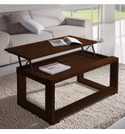 Table basse Relevable Wengé