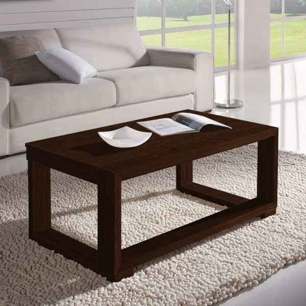 Table basse relevable weng cadre weng meuble for Table basse relevable wenge