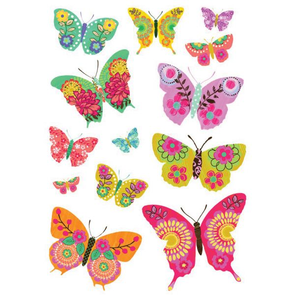 Stickers papillon for Stickers et decoration