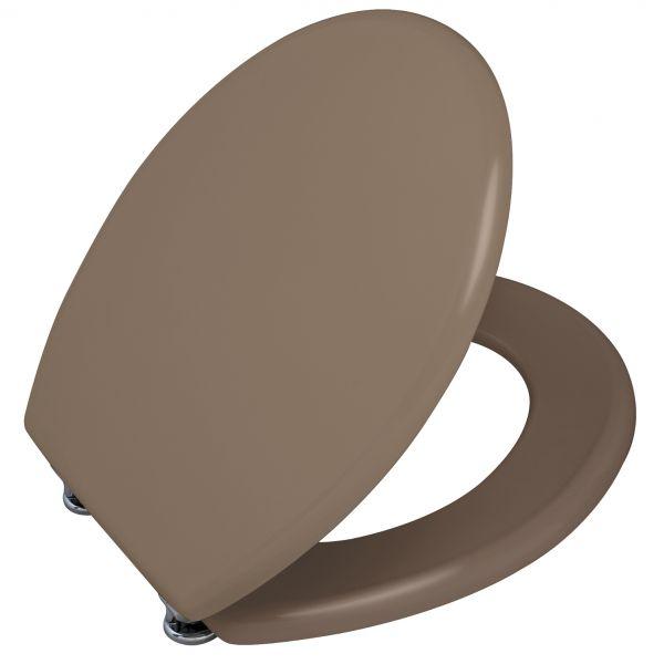 abattant wc taupe mat lunette wc marron. Black Bedroom Furniture Sets. Home Design Ideas