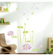 Stickers Fleurs de Lotus