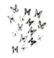 Décoration murale papillons Chrysalis Umbra