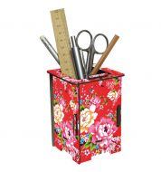 Pot à crayons / tirelire fleurs Werkaus
