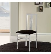 Chaise salle à manger en bois blanche (x4)