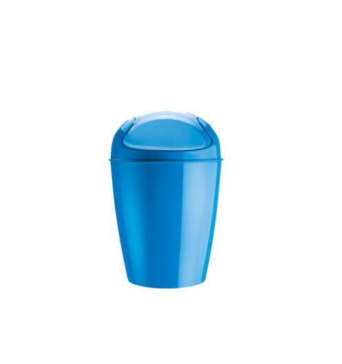 Mini poubelle bleue koziol poubelle design - Mini poubelle de salle de bain ...