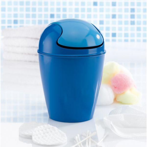 Mini poubelle bleue koziol poubelle design - Mini poubelle salle de bain ...