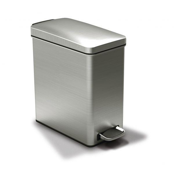 Mini poubelle de salle de bain simple cm fidji meubles de - Mini poubelle salle de bain ...