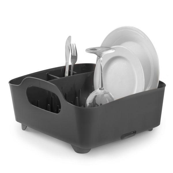 egouttoir vaisselle gris fonc umbra. Black Bedroom Furniture Sets. Home Design Ideas