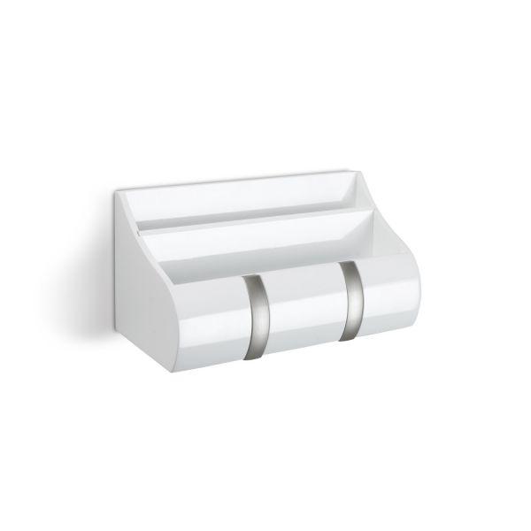 vide poche mural cubby blanc porte manteau. Black Bedroom Furniture Sets. Home Design Ideas