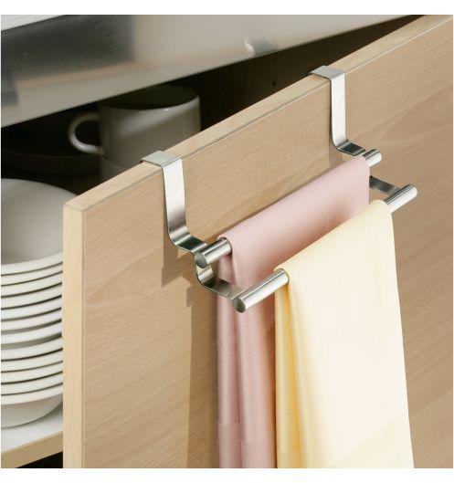 accroche torchon double porte torchon double. Black Bedroom Furniture Sets. Home Design Ideas