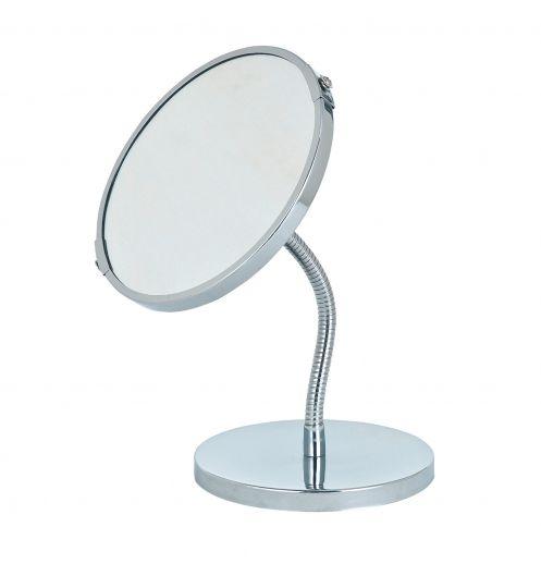 Miroir de salle de bain sur pied petit miroir rond - Miroir rond salle de bain ...