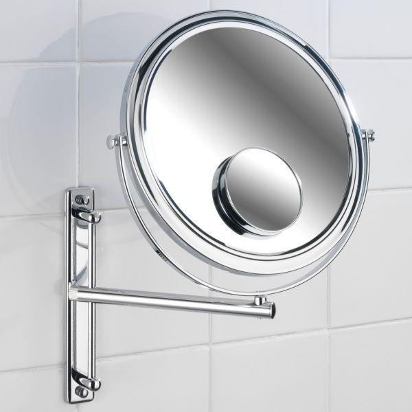 Miroir grossissant miroir salle de bain d co for Miroir grossissant salle de bain