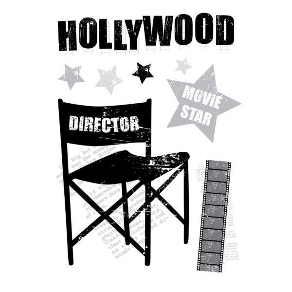 stickers cinema stickers muraux originaux. Black Bedroom Furniture Sets. Home Design Ideas