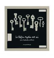 Armoire à clés noire Mystère Derrière la porte