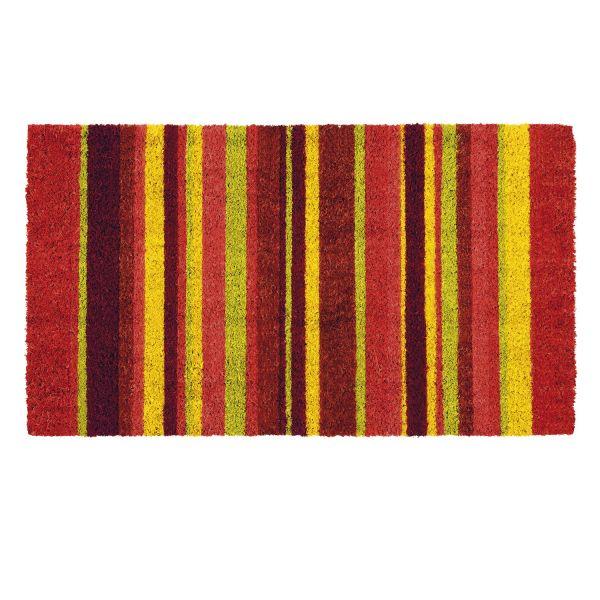 Paillasson original bayad re rouge d coration derri re for Decoration derriere la porte