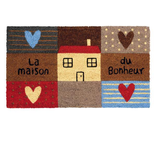 paillasson ext 233 rieur maison coeur paillasson design original dlp