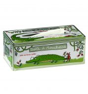 Boite mouchoirs crocodile Derrière la porte