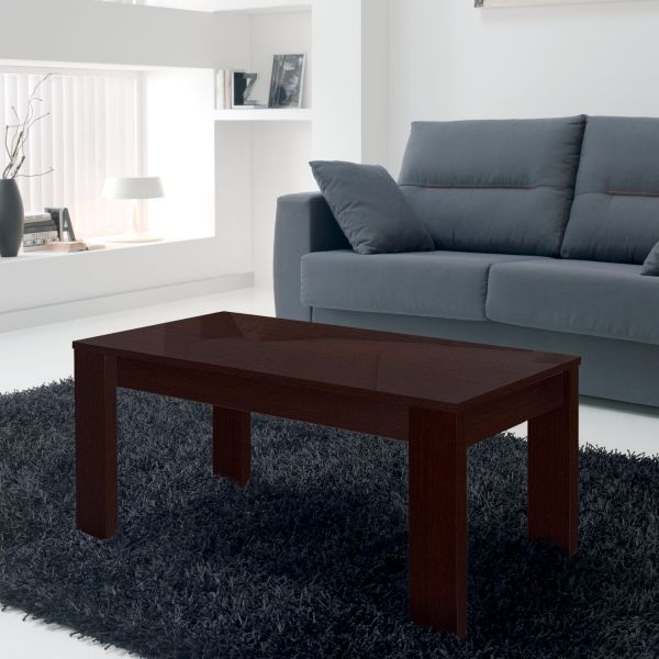 table basse relevable weng rectangulaire. Black Bedroom Furniture Sets. Home Design Ideas