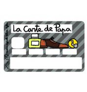 Stickers CB Valérie Nylin carte de papa