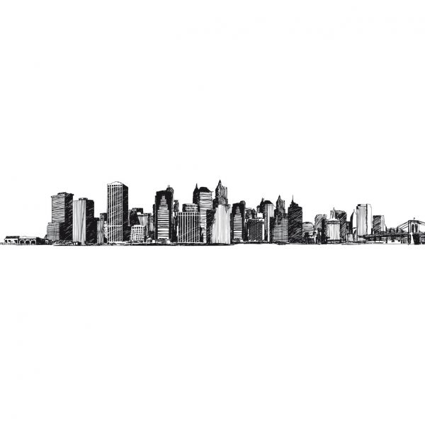 Frise autocollante New york - frise adhésive