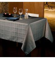Nappe enduite grise Gales 150x250 cm