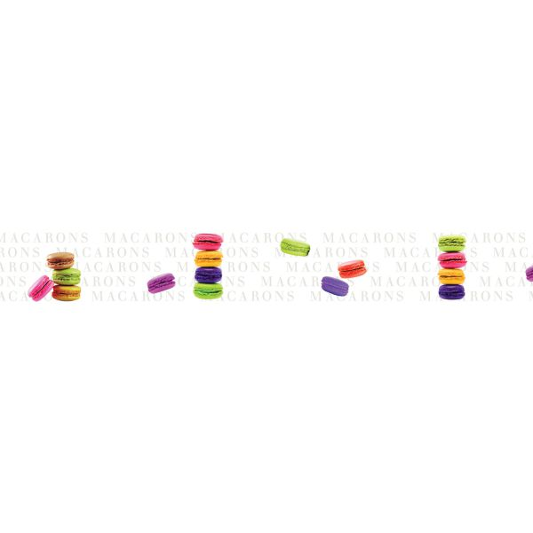 Frise Adhésive Macaron - Stickers Mural