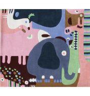 Tapis enfant puzzle animaux Art for kids
