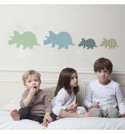 Sticker enfant Triceratops Art for kids