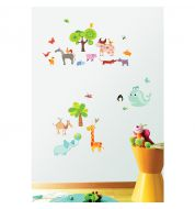 Sticker enfant Happy planet M