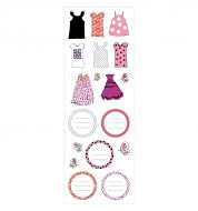 Sticker étiquettes Girly M