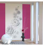 Décor mural numérique Gravure fleur non tissé