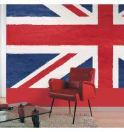 Décor mural numérique Union Jack non tissé