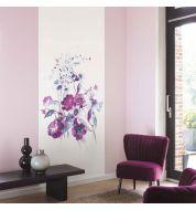 Décor mural numérique Silk Flowers non tissé