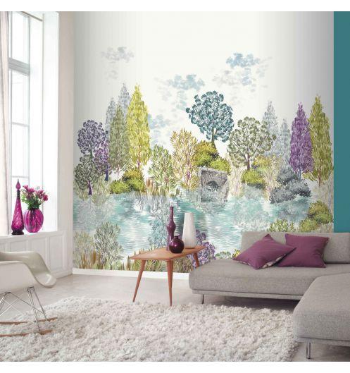 D cor mural num rique d co saveurs for Decor mural panoramique