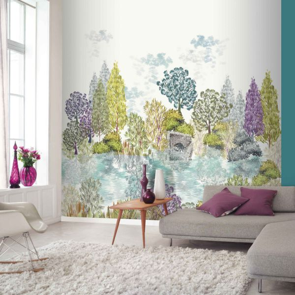 d cor mural num rique d co saveurs. Black Bedroom Furniture Sets. Home Design Ideas