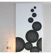 Décor mural numérique Fusion Noir non tissé