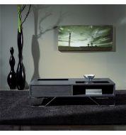 Table basse plaquée chêne rectangulaire