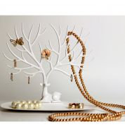 Porte bijoux Petit Cerf Blanc Qualy