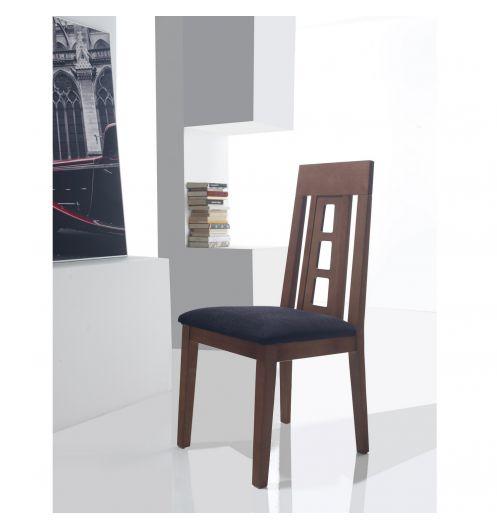 Chaise salle manger chaise design for Chaises salle manger cuir dossier haut
