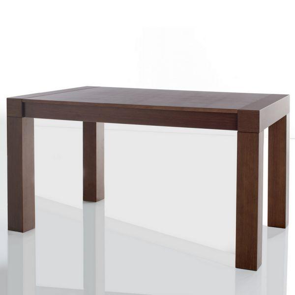 Table manger plaquage chene mobilier for Table a manger chene