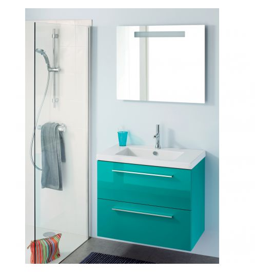Meuble vasque salle de bain for Meuble colonne suspendu salle de bain