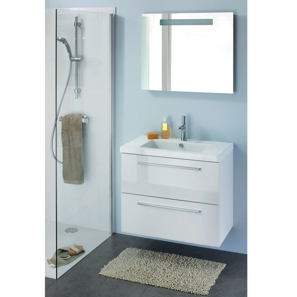 meuble vasque salle de bain blanc laque 80cm Résultat Supérieur 15 Luxe Meuble De Salle De Bain Blanc Image 2018 Sjd8
