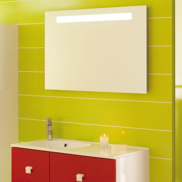 Miroir salle de bain sanijura for Miroir 3 volets salle de bain