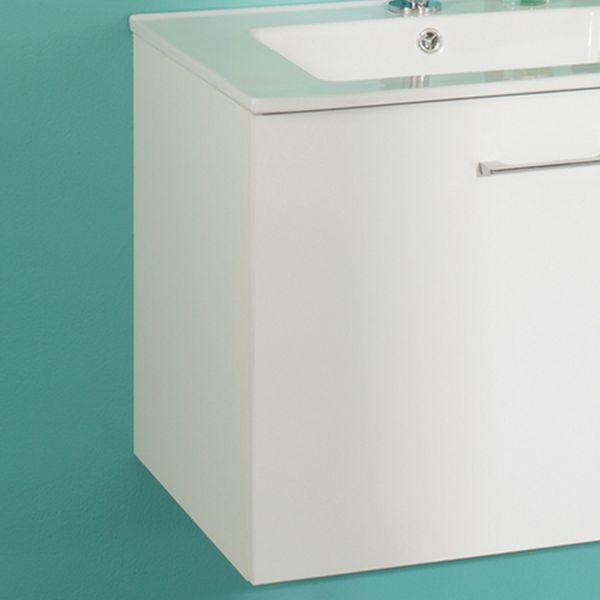 Meuble vasque sanijura for Meuble vasque salle de bain avec miroir