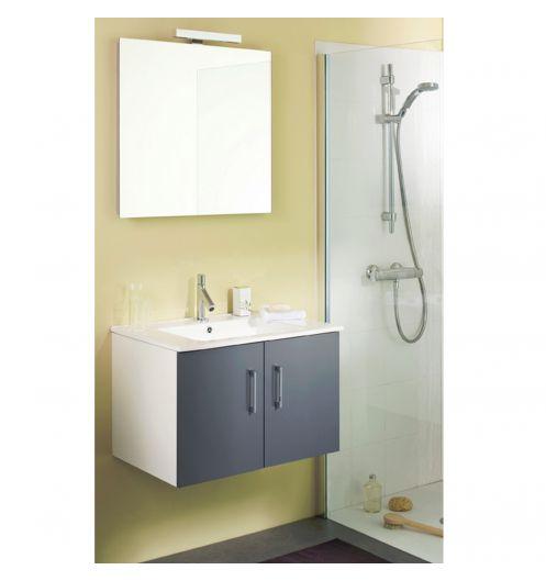 Meuble salle de bain mobilier for Meuble vasque avec miroir