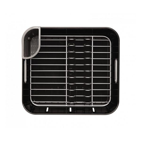egouttoir vaisselle compact noir simplehuman rangement. Black Bedroom Furniture Sets. Home Design Ideas
