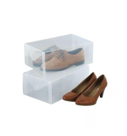 boites de rangement chaussures boite de rangement plastique. Black Bedroom Furniture Sets. Home Design Ideas