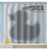 Rideau de douche-L'ombre du canard Mustard