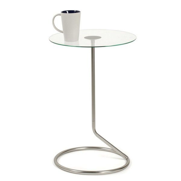 Table d 39 appoint en verre umbra for Table appoint salon